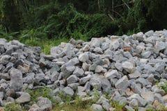 Pilha de pedra Imagem de Stock