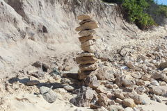 Pilha de pedras Fotos de Stock