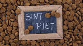 A pilha de pepernoten Fotografia de Stock