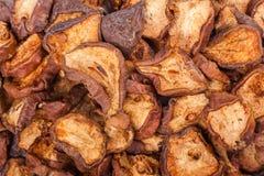 Pilha de peras secadas Imagem de Stock Royalty Free
