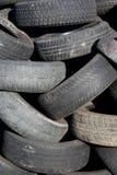 Pilha de pneus. Foto de Stock Royalty Free