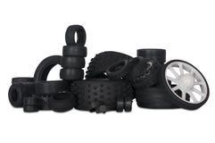 Pilha de pneus do brinquedo Imagem de Stock Royalty Free