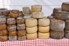 Pilha de queijo Fotografia de Stock Royalty Free