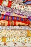 Pilha de Quilts Imagem de Stock
