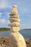 Pilha de rochas Fotografia de Stock