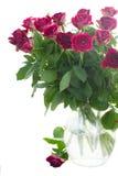 Pilha de rosas cor-de-rosa Foto de Stock
