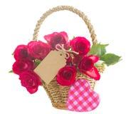 Pilha de rosas cor-de-rosa Fotos de Stock Royalty Free