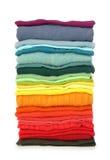 Pilha de roupa Imagem de Stock Royalty Free