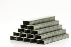 Pilha de Staples Fotografia de Stock