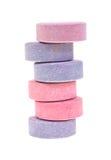 Pilha de tabuletas do anti-ácido Foto de Stock Royalty Free