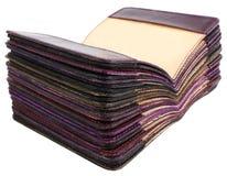 Pilha de tampas para passaportes Foto de Stock Royalty Free