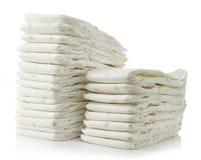 Pilha de tecidos Foto de Stock