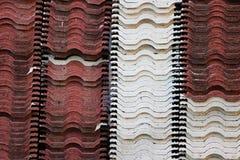 Pilha de telha de telhado Foto de Stock Royalty Free