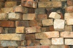 Pilha de tijolo velho Fotografia de Stock Royalty Free