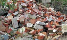 Pilha de tijolos Imagem de Stock Royalty Free