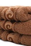 Pilha de toalhas Fotografia de Stock Royalty Free