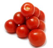 Pilha de tomates Fotografia de Stock