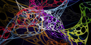 Pilha de Voronoi ilustração royalty free