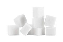 Pilha do açúcar Foto de Stock