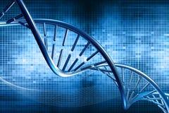 Pilha do ADN ilustração royalty free