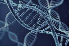 Pilha do ADN da ilustração de Digitas Imagens de Stock