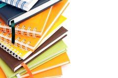 Pilha do caderno Fotos de Stock