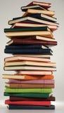 Pilha do caderno imagens de stock royalty free