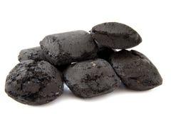 Pilha do carbono Fotografia de Stock Royalty Free