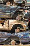 Pilha do carro Imagem de Stock Royalty Free