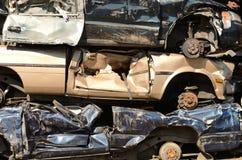 Pilha do carro Fotografia de Stock