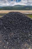 Pilha do carvão Imagens de Stock Royalty Free