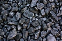 Pilha do carvão Fotos de Stock