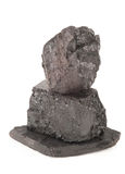 Pilha do carvão imagens de stock