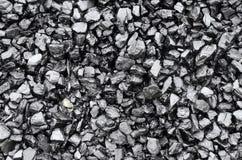 Pilha do carvão preto fotos de stock