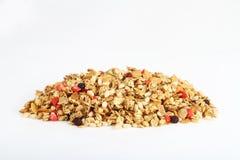 Pilha do cereal colorido fotografia de stock royalty free