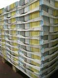 Pilha do compartimento Imagens de Stock
