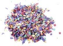 Pilha do Confetti Fotos de Stock