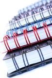 Pilha do Copybook Imagem de Stock