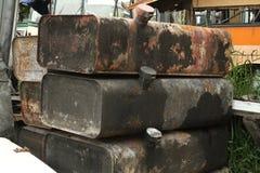 Pilha do depósito de gasolina Imagem de Stock Royalty Free