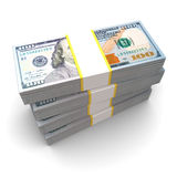Pilha do dinheiro Foto de Stock