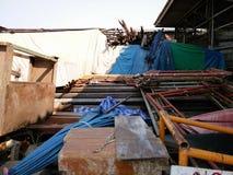 Pilha do equipamento de construção Foto de Stock Royalty Free