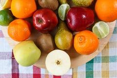 Pilha do fruto fresco foto de stock