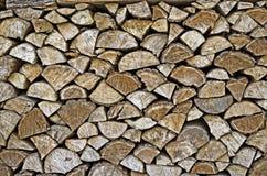 Pilha do fundo de madeira Imagem de Stock Royalty Free