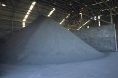 Pilha do minério da mina de ouro Fotografia de Stock