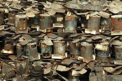 Pilha do motor de fã bonde Imagem de Stock Royalty Free