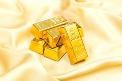 Pilha do ouro Fotos de Stock