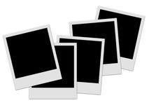 Pilha do Polaroid Imagens de Stock Royalty Free