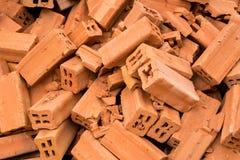 Pilha do tijolo Imagens de Stock