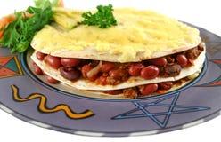 Pilha do Tortilla Imagens de Stock