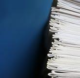 Pilha dos cadernos - instrução e conceito da escola Foto de Stock